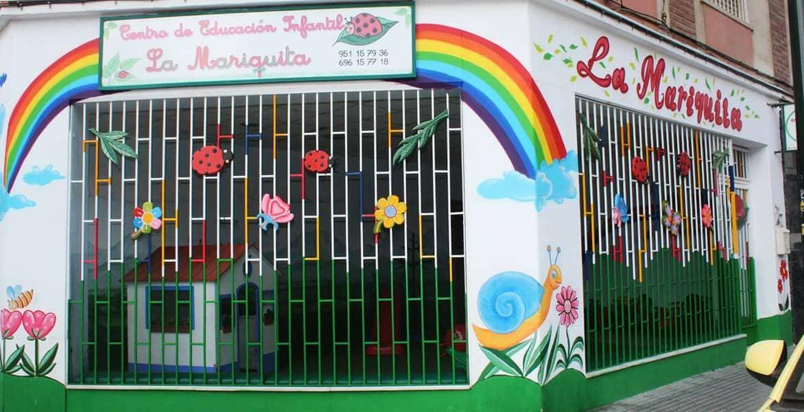 Guardería en Málaga La Mariquita